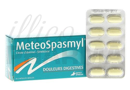 Meteospasmyl Capsules Uses, Dosage, Side Effects, Description