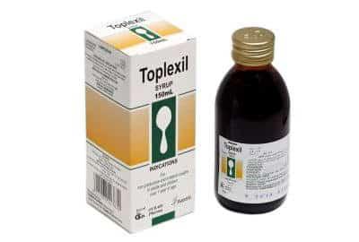 Toplexil Syrup Dosage